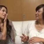 【無修正】北条麻妃が熟女とレズって発情させ本物のペニスを挿入!