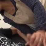 【無修正動画】巨乳の義母が童貞息子を筆下ろし!