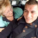【がいこくじん動画 無修正】タクシー運転手のイケメン兄さんを逆ナンするおばさん