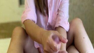 【手koki やり方 動画】可愛い若奥様によりローションテクニック